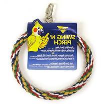 Booda Bird Swing N' Perch size: Small, Multi-Color