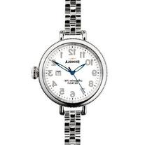 Ladies' Shinola 'The Birdy' Stainless Steel and White Dial