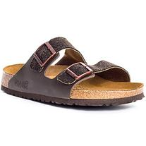 Birkenstock Men's Arizona 2-Strap Soft Cork Footbed Sandal