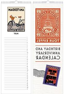 Linnea Birthday and Anniversary Perpetual Calendar - Travel
