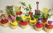 Bubble Guppies 19 Piece Birthday Cupcake Topper Set