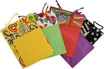 Birthday Gift Bags with Tags and Tissue Paper Pack of 4