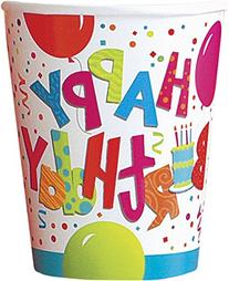 9oz Jamboree Birthday Party Cups, 8ct