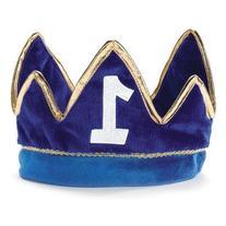 1st Birthday Boy Prince Party Supplies - Plush Crown