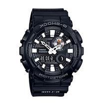 """G-Shock Men's Black Analog-Digital """"G-Lide"""" Watch with Tide"""