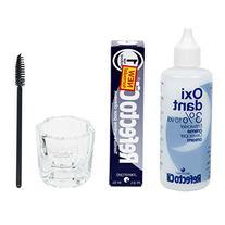 Refectocil Cream 15ml, Cream Oxidant 3%, Mascara Brush,