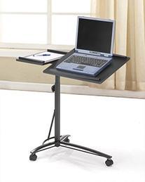 Black Desks Laptop Computer Stand with Adjustable Table Top