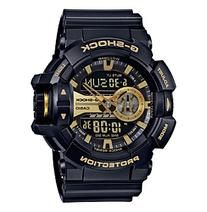 G-Shock Men's XL Black Gold Analog-Digital Watch