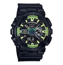 G-Shock Men's XL Black and Lime Analog-Digital Watch