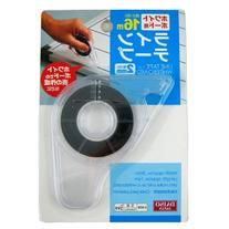 Daiso Japan Black Line Tape for Whiteboard 2mm x 16m