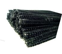 Black Pipe Cleaners Chenille Stems Assorted Craft