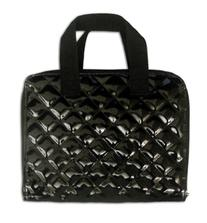 Miamica Black Quilted iPad Trendy Techie Carrying Case