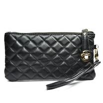 EUBEST Black Synthetic Leather Soft Women Wallet with a