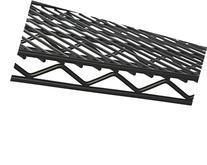"""14"""" x 36"""" Black Wire Shelf"""