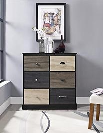 Ameriwood Home Mercer 6 Door Storage Cabinet with