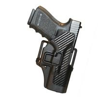 Left - hand BLACKHAWK! SERPA CQC Concealment Holster Carbon