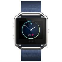 Fitbit Blaze Blue Classic Accessory Strap Size Large
