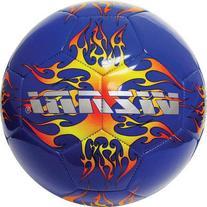 Vizari Blaze Soccer Ball, Blue/Orange, 3