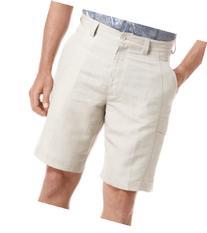 Cubavera Linen Blend Cargo Shorts