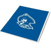 Blinn College Spiral Notebook w/Clear Coil 'Buccaneer Head