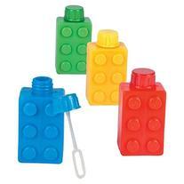 Block Party Brick Party Bubble Bottle Bubbles 1 Dozen