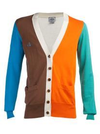 Color Blocked Cardigan