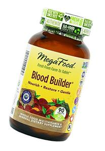 MegaFood - Blood Builder, Support for Healthy Iron Levels,
