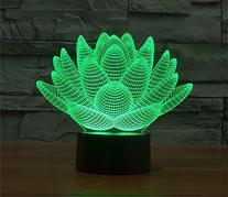 LOTOS® Blooming Lotus 3D Model Abstract Visual Optical