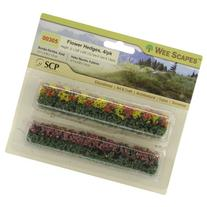 SCP Blossom Blended Flower Hedges, 5 x 0.375 x 0.625-Inch,