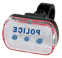 M-Wave Blue LED Bicycle Taillight
