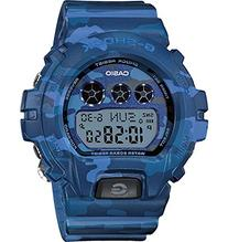 G-Shock Women's Digital Blue Camouflage Resin Strap Watch