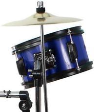 Blue Drum Set Complete Junior Kid's Children's Size with