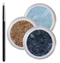Blue Eyes Smokey Mineral Eyeshadow Kit - 100% Pure All
