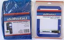 LockerMate Blue Magnetic Dry Erase Board and Hanging Locker