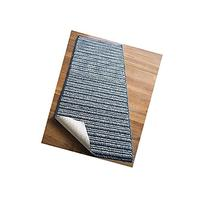 """NEW 20"""" X 120"""" Blue Colored Striped Extra Long Nonslip Floor"""