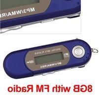 Ecloud ShopUS Blue 8GB 8G USB Flash Drive LCD Mini MP3