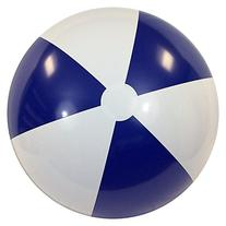 "42"" Blue & White P7 Beach Balls"