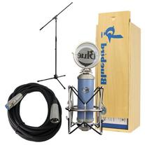 Blue Bluebird Microphone Bundle with Mic Boom Stand, XLR