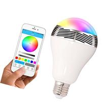 Toprime Bluetooth Smart LED Light Bulb Speaker Dimmable