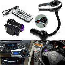 Bluetooth Steering Wheel Handsfree Fm Transmitter Hands Free