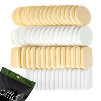 BMC 60 pc Latex Free Makeup Sponges for Full Coverage Powder