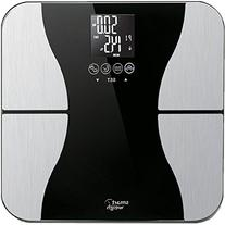 Smart Weigh Digital Bathroom BMI Body Fat Weight Scale,