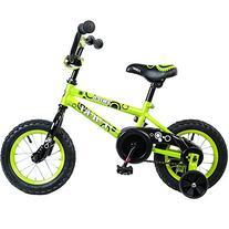 Tauki Kid Bike BMX Bike for Boys and Girls, 12 Inch, Lime,