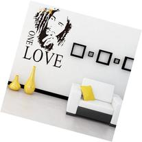 MZY LLC  Bob Marley ONE LOVE Vinyl Art Mural Wall Sticker