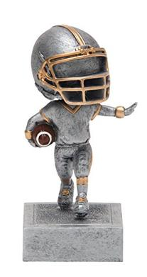 Bobblehead Football Trophy by Decade Awards