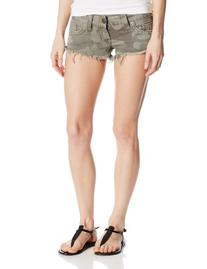 True Religion Women's Bobby Camo Short, Derringer, 26