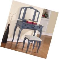 Enjoyable Poundex Bobkona Vanity Set Searchub Pabps2019 Chair Design Images Pabps2019Com