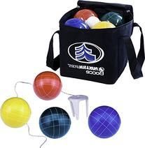 Park & Sun Sports Bocce Ball Set with Deluxe Carrying Bag: