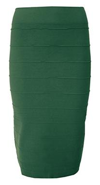 Esteez Stretchy Pencil Skirt for Women Opaque Lightweight