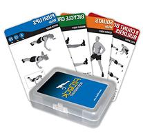Fitdeck Exercise Playing Cards for Guided Home Workouts,